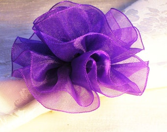 Purple haze napkin rings , Set of Six