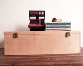 "Vintage Wine Crate Storage Box/ Case  - Large 6"" x 20"" x 6.5"""