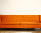 Mid Century Modern Danish Selig Monroe Couch. Circa 1950s. Mad Men Style and Charm.