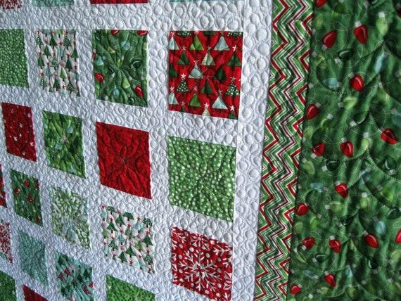 Simply JOY 54x60 Christmas sofa quilt CUSTOM