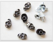 50 sets 12mm  Skull rivets  gunmetal