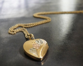 Jewelry, Necklace Heart Locket, Vintage Locket, Romantic Jewelry, Gift for Her, Accessories, Gift Box