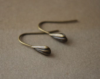 10Pairs Vintage brass Plated Raw Brass Earring Hooks