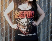 Kreator Hordes of Chaos lace hooded dress