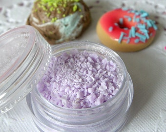 Fake Topping (Purple) Faux Sprinkles Flakes Miniature Sweets Cupcake Cookie Cell Phone Deco TP009