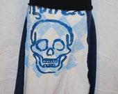 Recycled tee shirt skirt  small