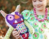 Toy Stuffed Monster Friend - Tooth fairy Pillow Monster