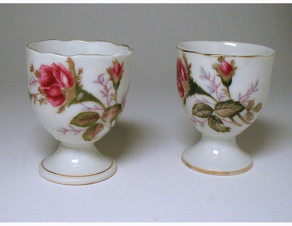 Vintage Pair of Egg Cups made in Japan