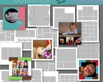 20x20 Storyboard COLLECTION - 20 Custom Photo Templates for Photographers