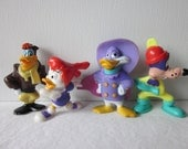 Darkwing Duck Figures - Kelloggs Disney Mail Away