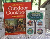 Vintage Betty Crocker Outdoor Cookbooks pair