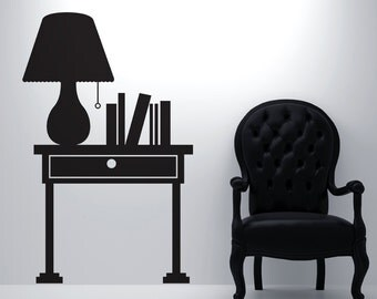 Vinyl Wall Decal Sticker Lamp OSDC101