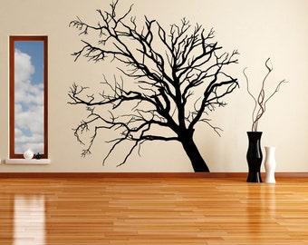 Vinyl Wall Decal Sticker Leafless Tree OSMB620s