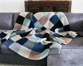 Color Block Blanket in Stormy Weather