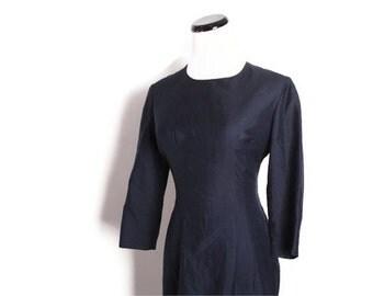 Little Black Dress / LBD / Black Dress / Cocktail Dress / 1950s Cocktail Dress / Dress / Dresses / Vintage Dress / Holiday Fashion / 1447