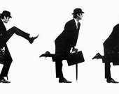 Ministry of Silly Walks Counted Cross Stitch Pattern