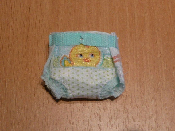 Mini pamper for 4.5 - 5 inch ooak baby