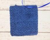 "8"" Crochet Tutu Tube Top - Navy"