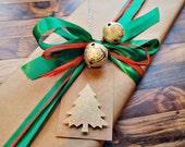 christmas gift tags handmade christmas tags with gold tree gift tags