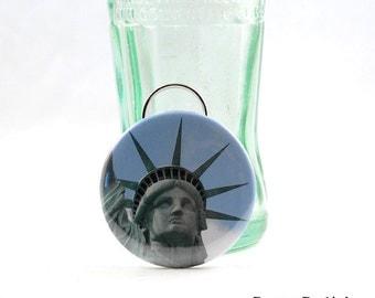 Statue of Liberty Bottle Opener - Lady Liberty Keychain and Bottle Opener Combo - Statue of Liberty Keychain - I Love New York - NYC