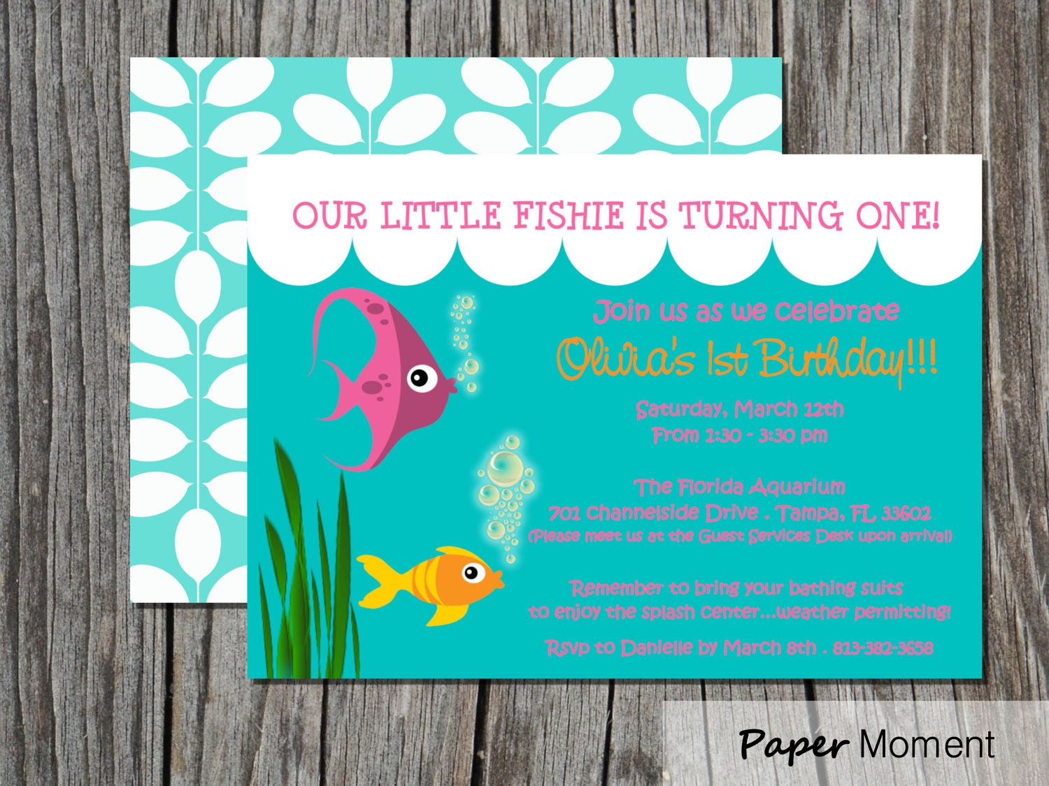 Under The Sea Party Invitations as nice invitation layout