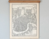 1930s New Orleans, Louisiana Antique City Map