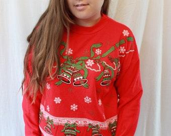 Christmas Sweatshirt By Sky lite Fashion
