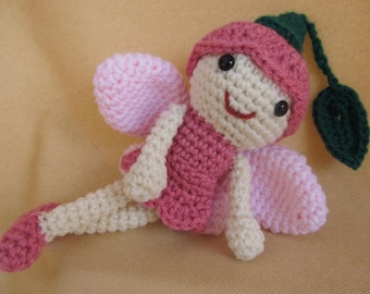 Sprout the Fairy Crochet Amigurumi Pattern