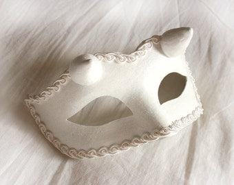 Devil in Disguise Venetian Masquerade Mask