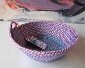 Small Rope Basket - Purple/Blue
