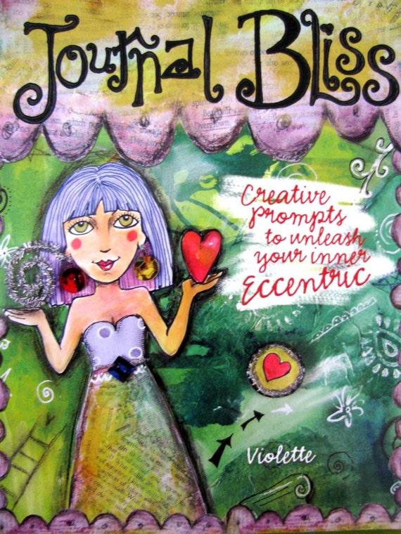 Journal Bliss Mixed Media Instruction Book