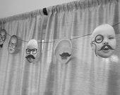 Mustache Bash/LIttle Man Party- Baby Photo Banner Kit