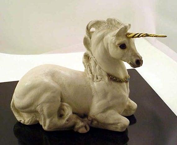 Windstone Editions Female Unicorn Figurine 1990 Pena