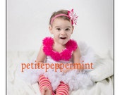 Baby Leg Warmers or Children Arm Warmers - Strawberry Sorbet