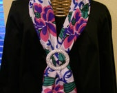 Silken Made In Italy Flowery Scarf