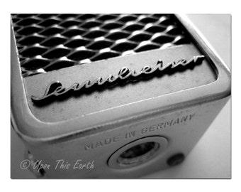 "Vintage Sennheiser Microphone - 8.5"" x 11"" Fine Art Photograph"