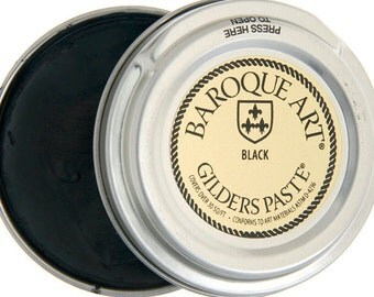 Gilders Paste- 30ml 1.5oz Black-Great for Patina's and Metal Work