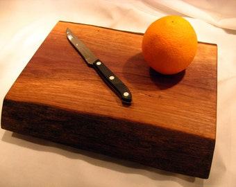 Live Edge Black Walnut Serving Plate
