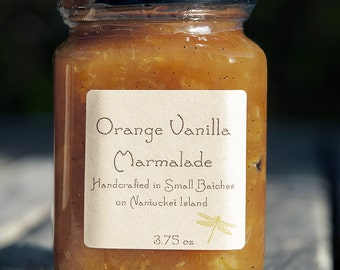 Orange Vanilla Bean Marmalade 3.75oz