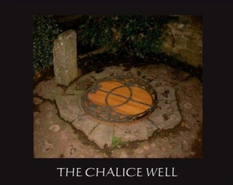 The Chalice Well - Greeting card