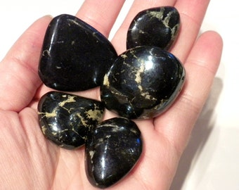 Polished Covellite