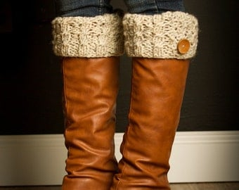 Knitted Boot Cuffs, Knit Boot Toppers, Womens Boot Cuffs, Gifts for Women, Womens Gifts, Knit Boot Cuffs, Knitted Boot Toppers, SS-bc801
