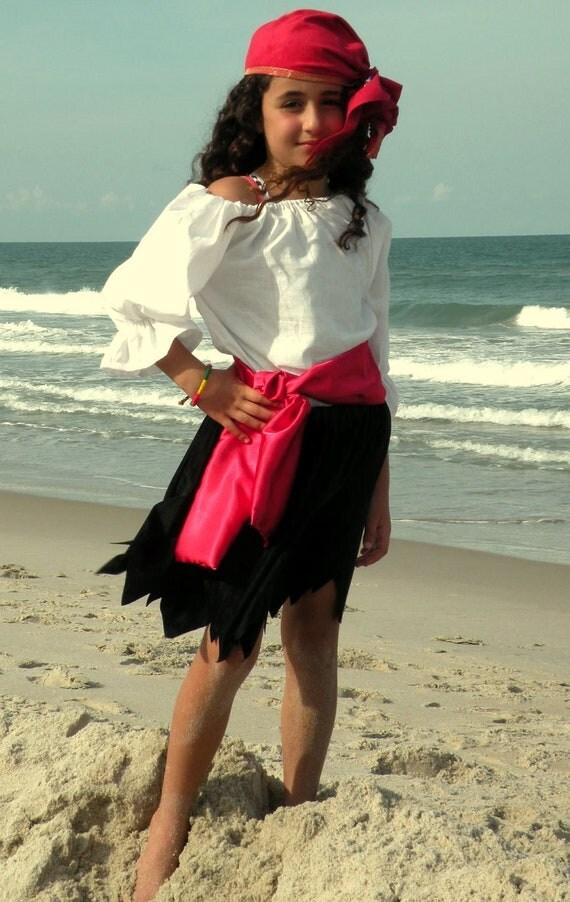 Child Pirate  Pirates Girl Halloween Costume
