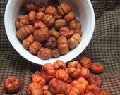 Putka Pods (orange, mini pumpkins, Halloween, Fall, Autumn, harvest, Thanksgiving,  Mabon, Samhain) - indigomoonherbals