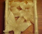 Tangerine Vegan Butterflies in Bamboo Soap