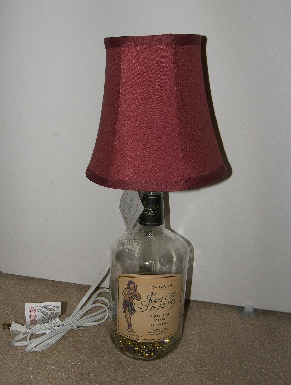 Sailor Jerry Rum Bottle Lamp
