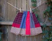 Girls Patchwork Skirt