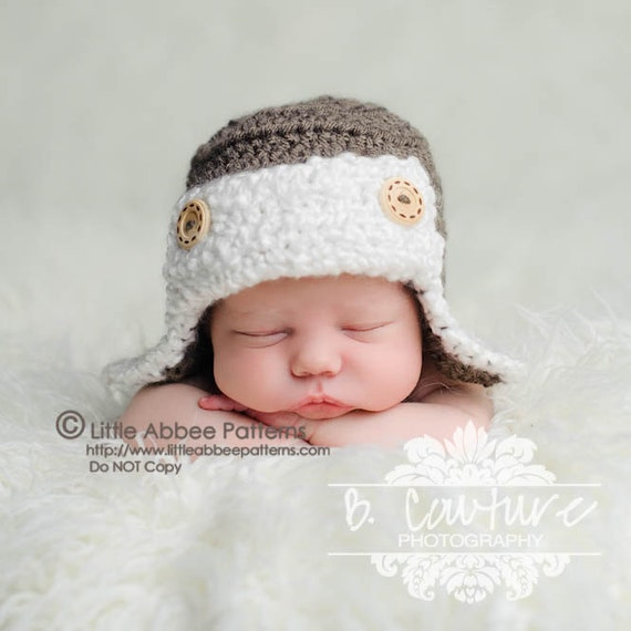 Infant Aviator Hat Crochet Pattern : Unavailable Listing on Etsy