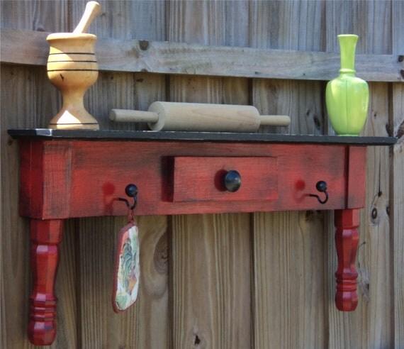 Rustic Country Farmhouse Style Headboard, Window Cornice, Towel Bar Or Coat Rack