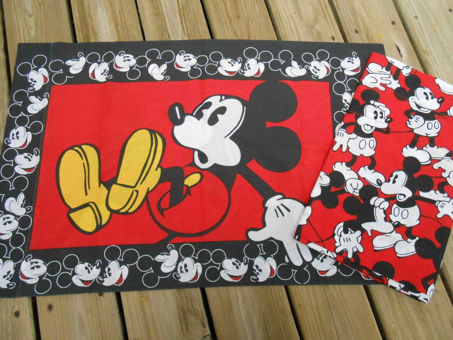 mickey mouse bedroom curtains mickey mouse curtain valance and pillowcase vintage disney 16182